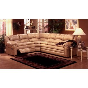 Riviera Reclining Sectional by Omnia Leather