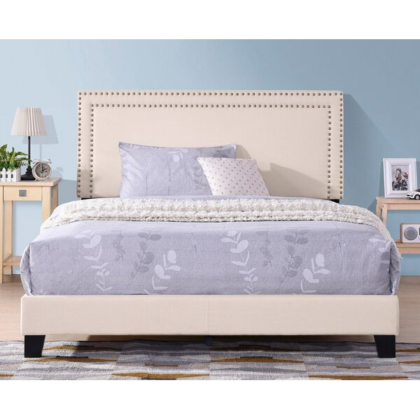 Axilen Upholstered Standard Bed by Winston Porter