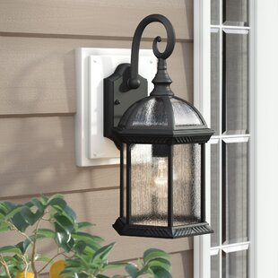 Springboro Divine 1-Light Outdoor Wall Lantern By Three Posts Outdoor Lighting