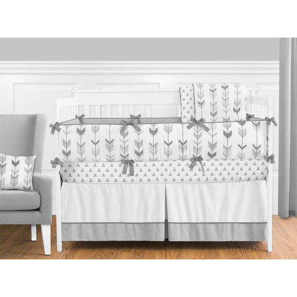 Mod Arrow 9 Piece Crib Bedding Set by Sweet Jojo Designs