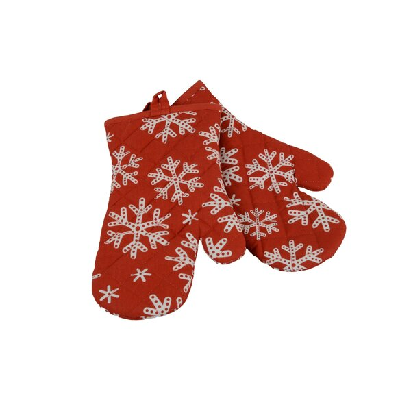 Snowflakes Oven Mitt by Flato Home Products