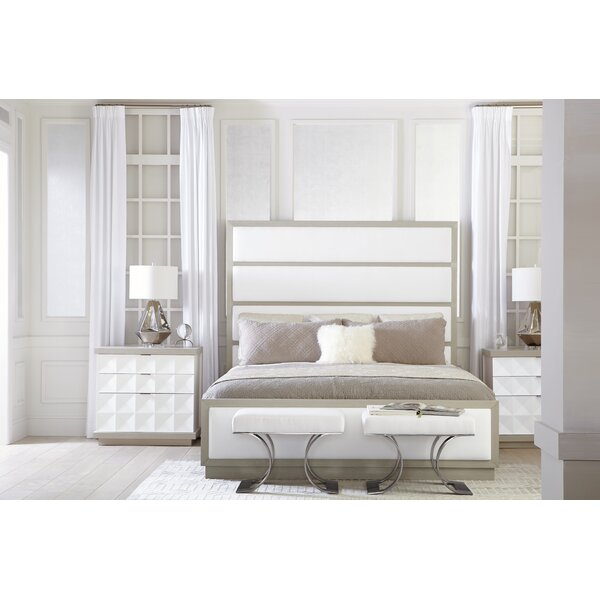 Axiom Upholstered Panel Standard Bed by Bernhardt