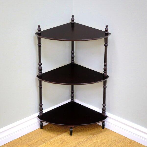 Check Price Nikolaos Corner Bookcase
