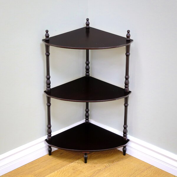 Low Price Nikolaos Corner Bookcase