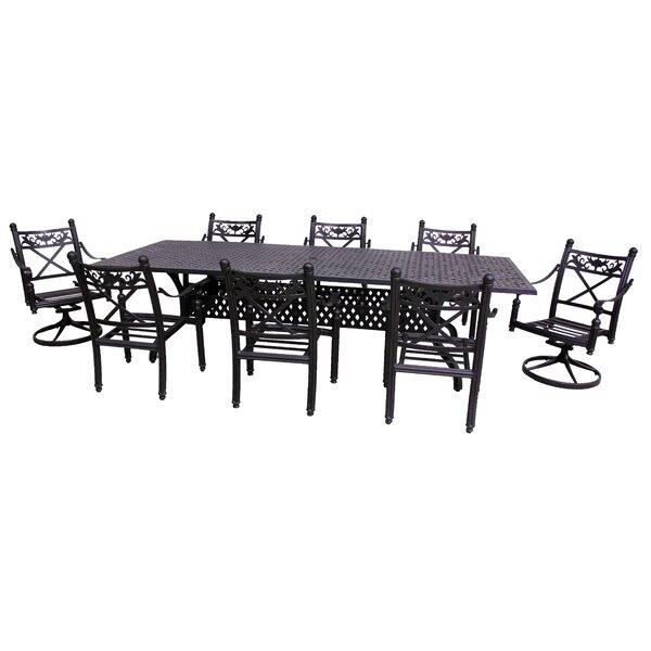 Baldwin 9 Piece Dining Set by California Outdoor Designs