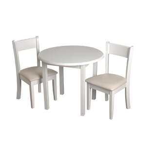 Affordable Price Children's 3 Piece Round Table and Chair Set ByGift Mark
