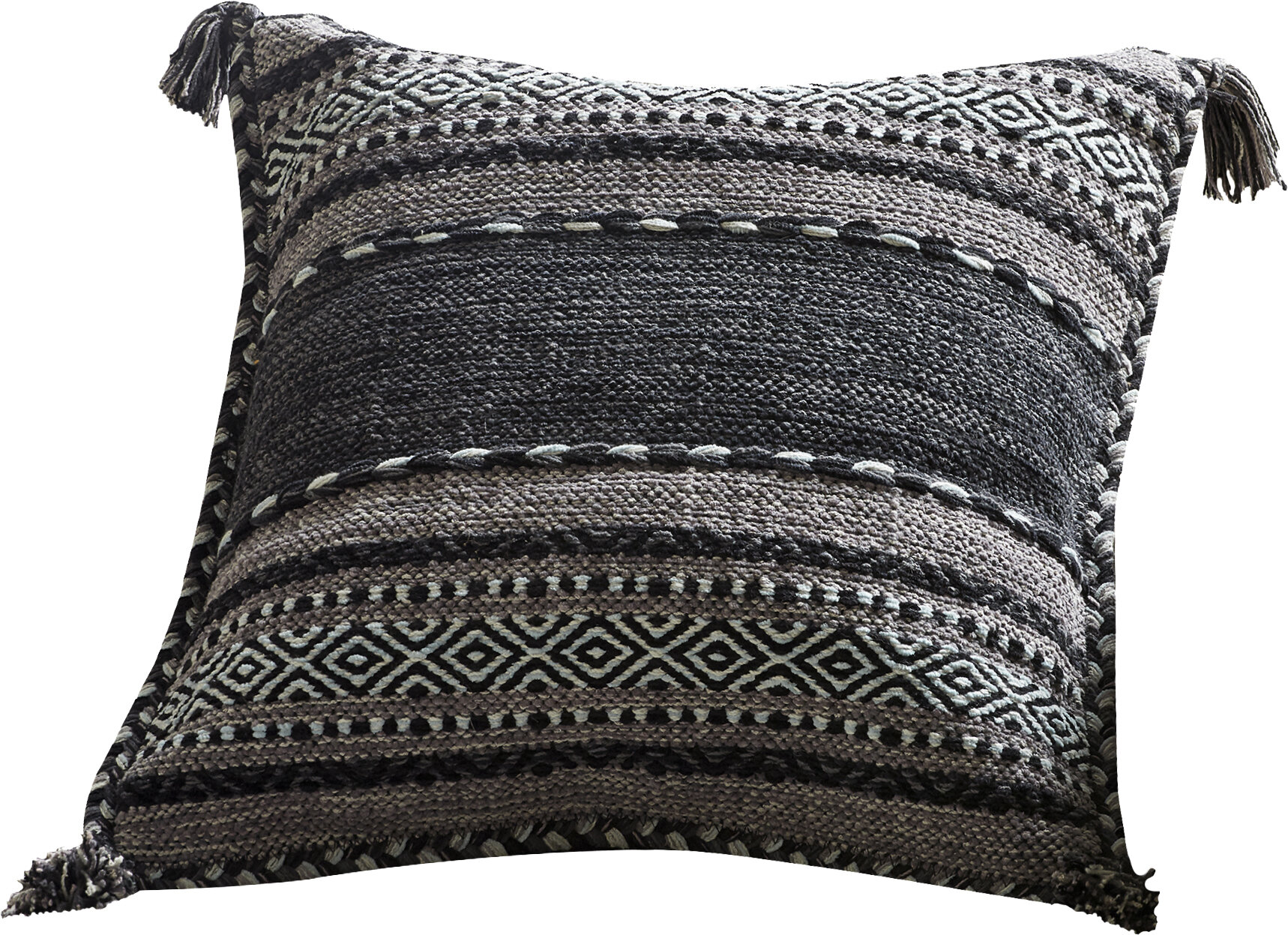 Black Brown Throw Pillows You Ll Love In 2021 Wayfair