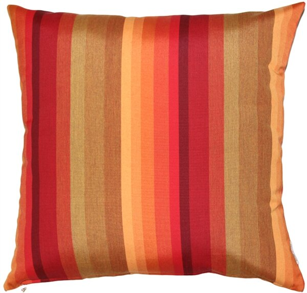 Cheryton Sunset Outdoor Sunbrella Throw Pillow by Red Barrel Studio