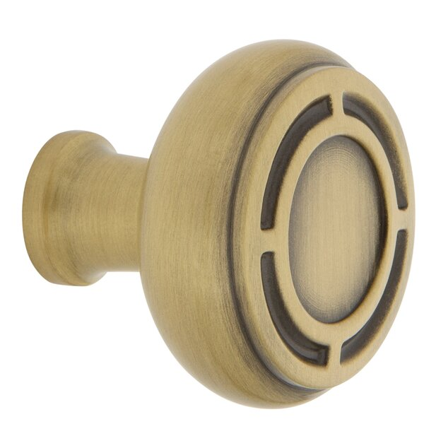 Mission Cabinet and Drawer Round Knob by Nostalgic Warehouse