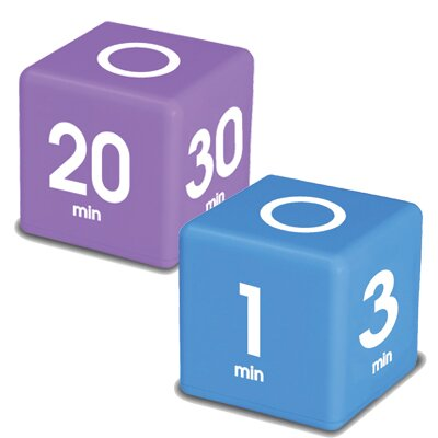 Miracle Cube Timer (Set of 2) by Datexx