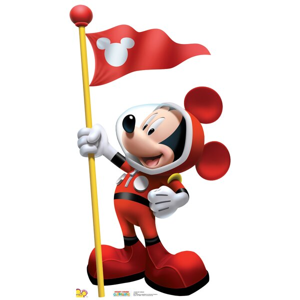 Disney Mickey in Space Stand-Up by Advanced Graphics