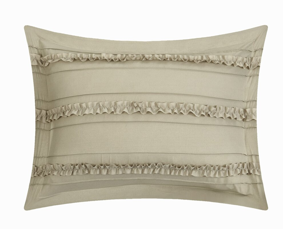 Chic Home Elle Comforter Set in Beige & Reviews | Wayfair