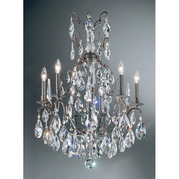 Gregor 7-Light Candle Style Empire Chandelier by House of Hampton House of Hampton