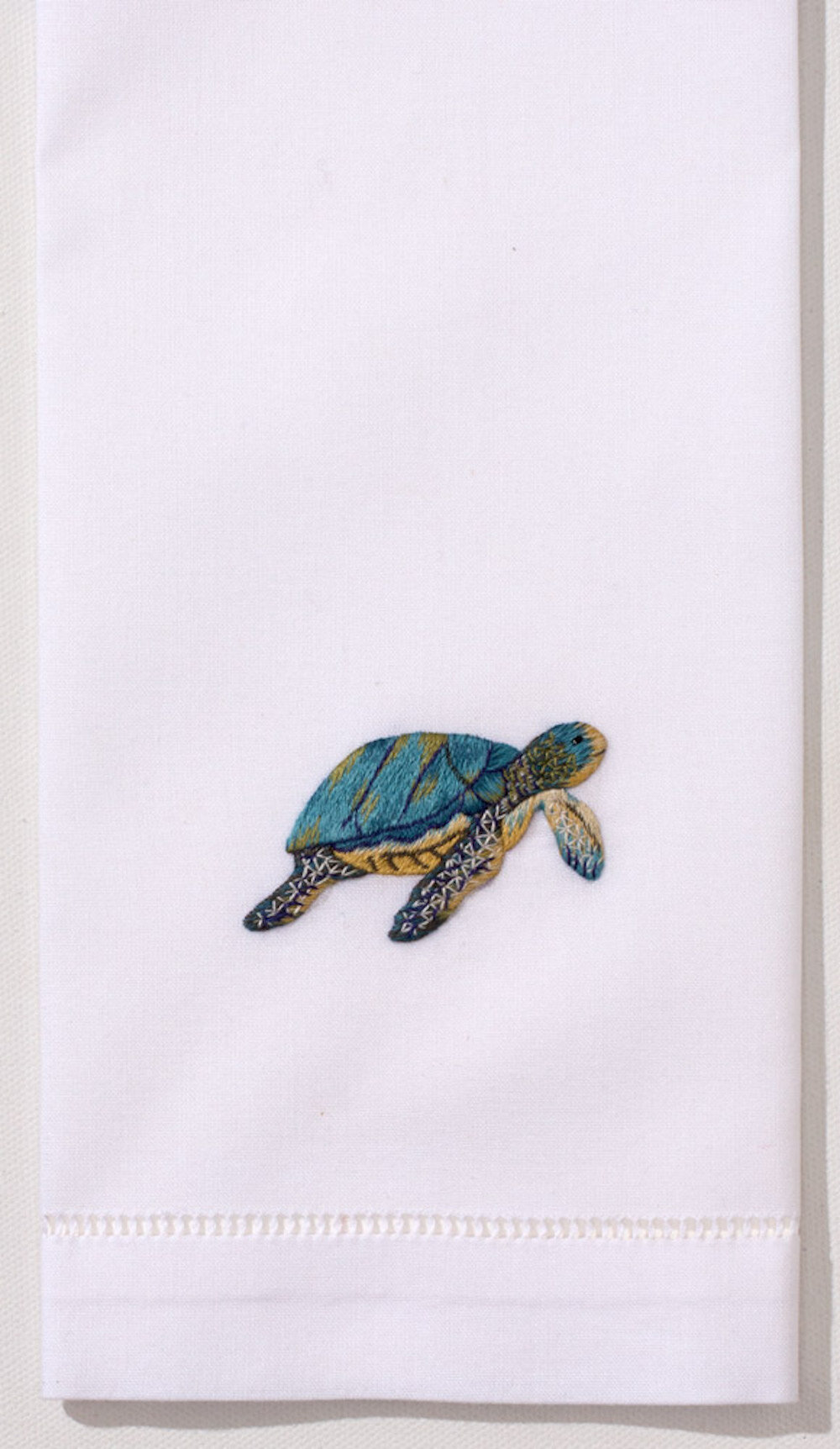 Patient Turtle Embroidery