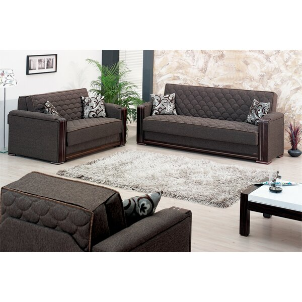 Oregon Sleeper Configurable Living Room Set by Beyan Signature
