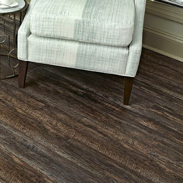 Calico 6 x 48 x 6.5 Oak Luxury Vinyl Plank in Dark Brown by Islander Flooring