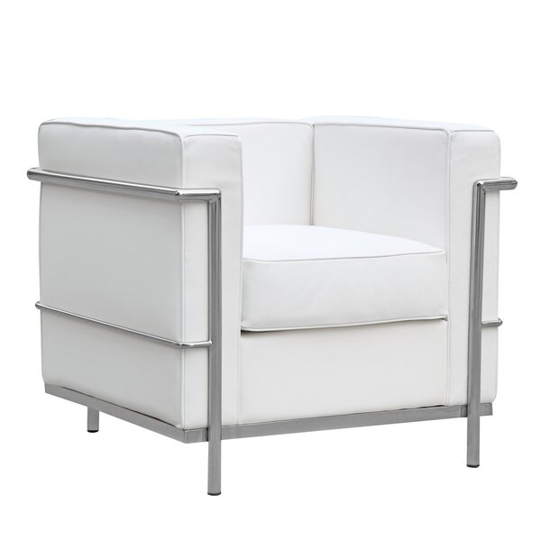 Cube Lc2 Petit Lounge Chair by Fine Mod Imports