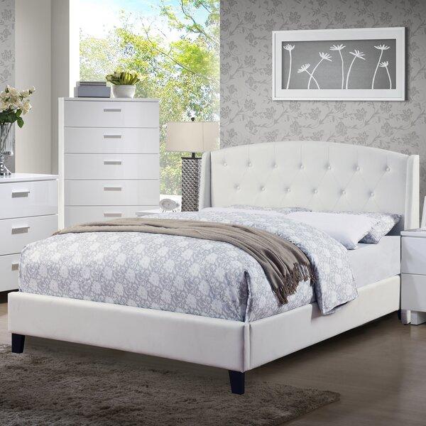 Teemo Upholstered Platform Bed by A&J Homes Studio