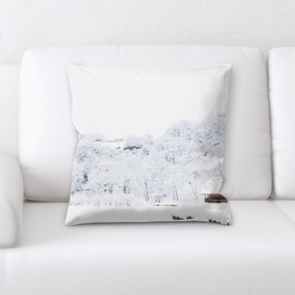 Winter Feeling (88) Throw Pillow by Rug Tycoon