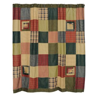 Best Choices Annabelle Cotton Patchwork Shower Curtain By August Grove