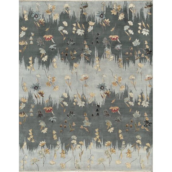 One-of-a-Kind Gordon Hand-Knotted Gray Indoor Area Rug by Bokara Rug Co., Inc.