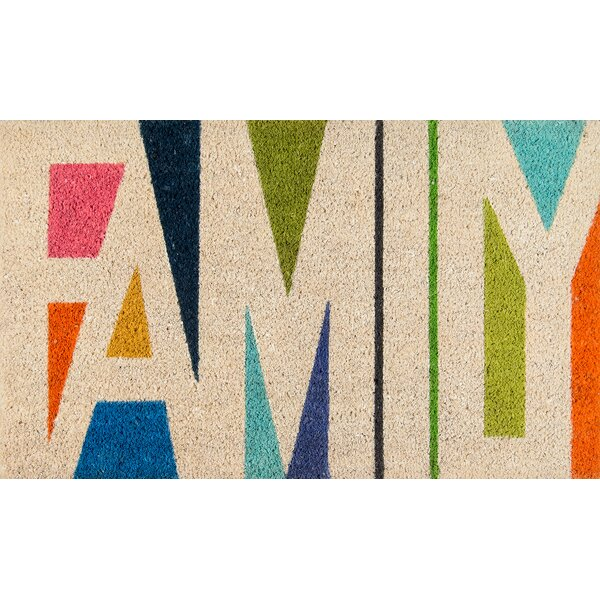 Aloha Family Doormat by Novogratz