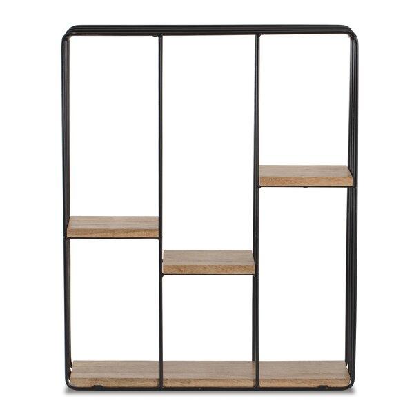 Carpenter Square Floating Wall Shelf by Brayden Studio