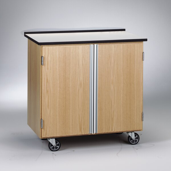 Write-N-Roll Mobile Storage Cabinet by Diversified Woodcrafts