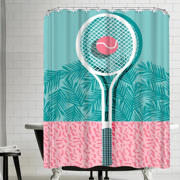 Wacka Designs Good to Go Shower Curtain by East Urban Home