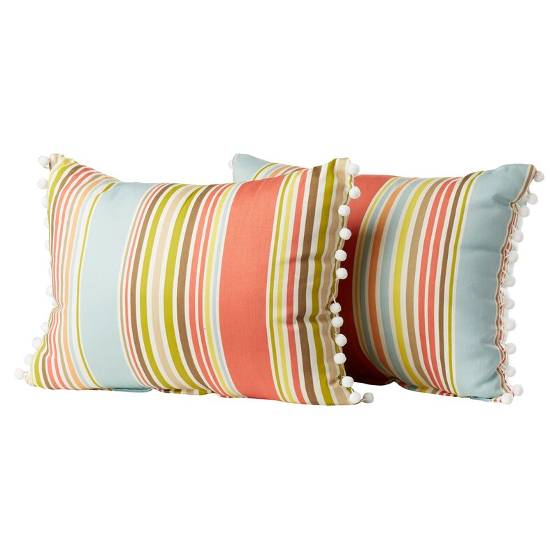 pillow chair. melcher deck chair ball fringe shell cotton throw pillow k