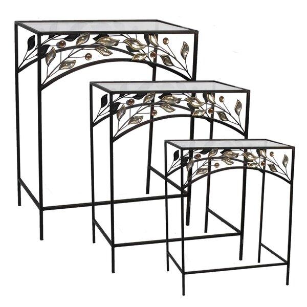 Coombs 3 Piece Nesting Tables By Fleur De Lis Living