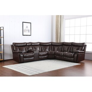 Monona Symmetrical Reclining Sectional by Red Barrel Studio