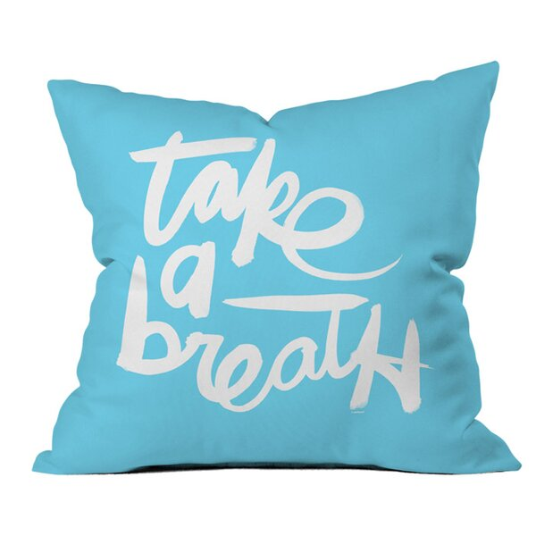 Take Outdoor Throw Pillow by Deny Designs