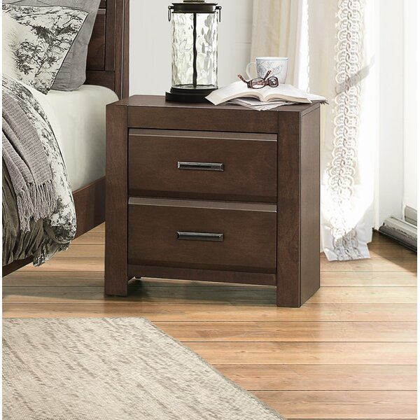 Mccarver 2 Drawer Nightstand by Red Barrel Studio
