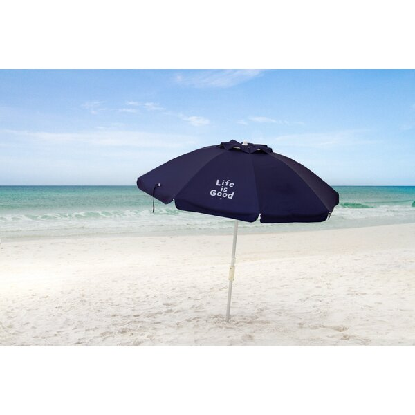 Life is Good 7' Beach Umbrella by Life Is Good Life Is Good