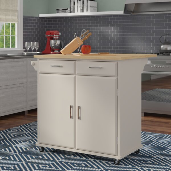 Morabito Kitchen Cart by Ebern Designs