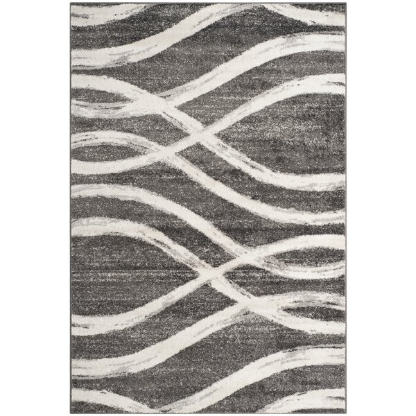 Graciano Ivory/Gray Area Rug by Willa Arlo Interiors