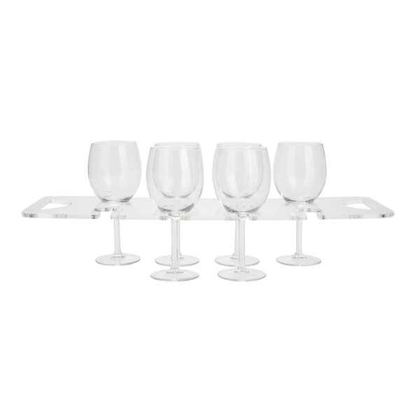 Wall Mounted Wine Glass Rack by Mind Reader Mind Reader