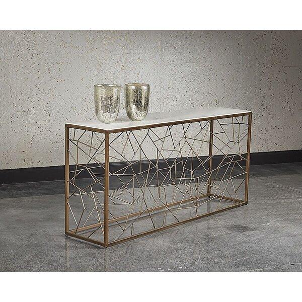 Marchmont Marble Console Table By Orren Ellis