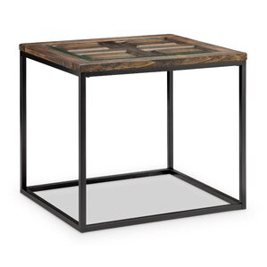 Ajit Rectangular End Table by Gracie Oaks