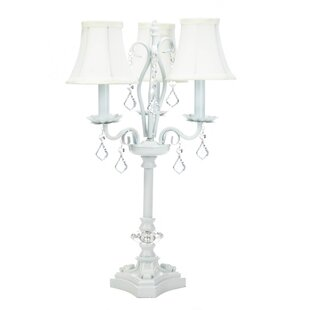 Chandelier table lamp wayfair hibbell chandelier 21 table lamp aloadofball Image collections