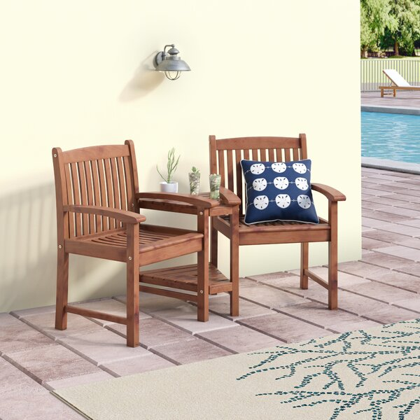 Rothstein Patio Dining Chair by Beachcrest Home