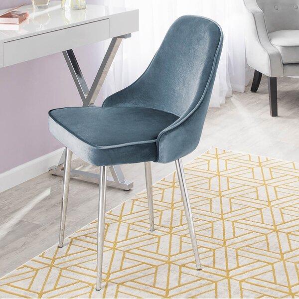 Elim Velvet Upholstered Dining Chair (Set of 2) by Mercer41