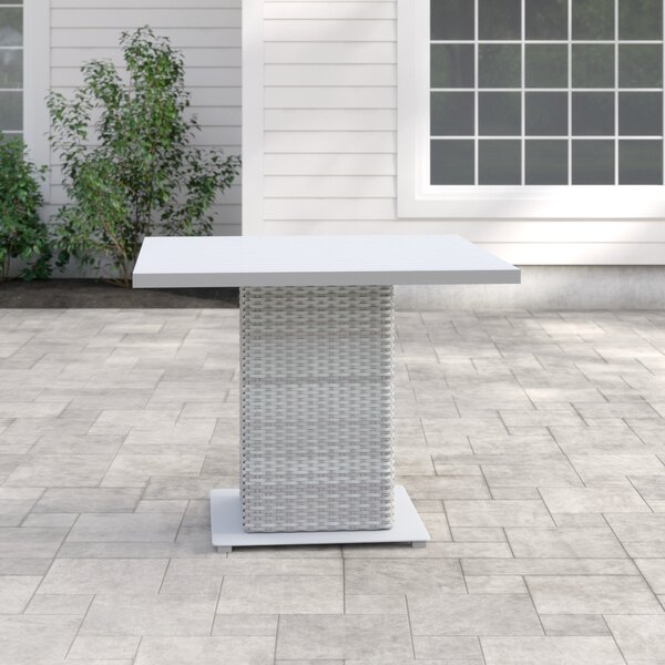 Wicker Dining Table By Sol 72 Outdoor by Sol 72 Outdoor New
