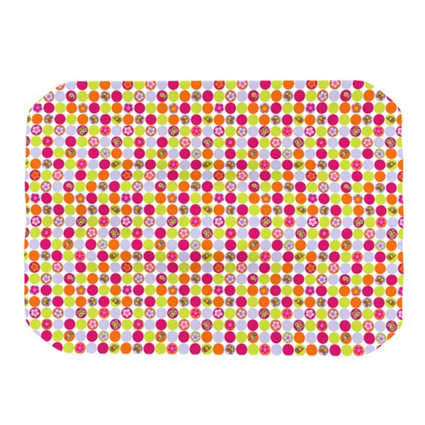 Happy Circles Placemat by KESS InHouse
