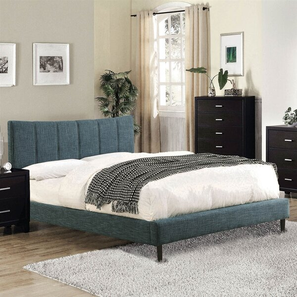 Pioneer Upholstered Platform Bed by Latitude Run