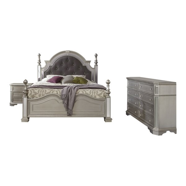 Verne Standard Configurable Bedroom Set by House of Hampton