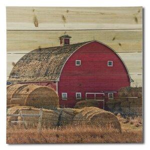 u0027on the farmu0027 print on wood u0027