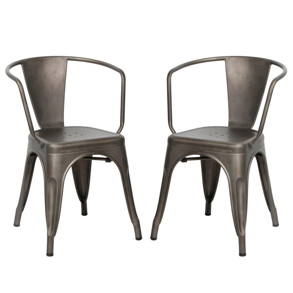 Hardt Bistro Patio Dining Chair (Set of 2) by Williston Forge