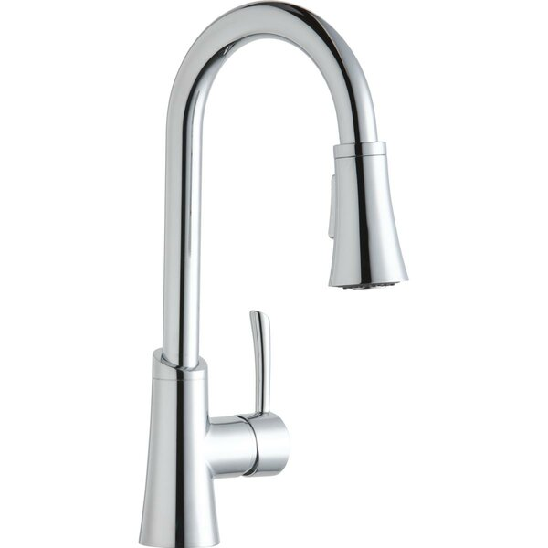 Gourmet Single Hole Pull Down Bar Faucet by Elkay